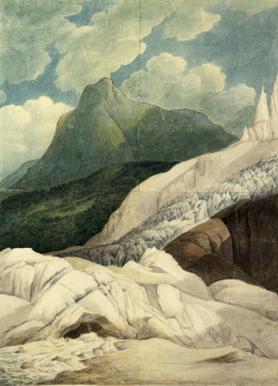 The Source of The Arveiron, by Francis Towne