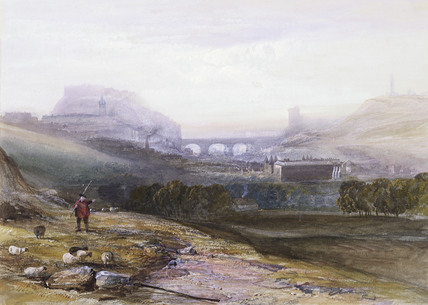 Edinburgh, from Arthur's Seat, by John Gendall