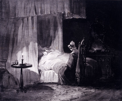The Bed of Sickness, by William Collingwood-Smith