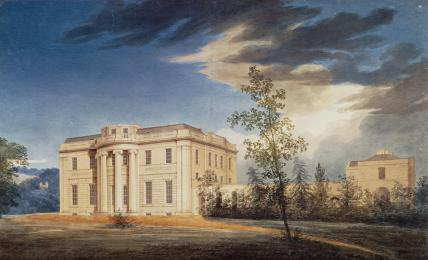 Design for Tyringham, by Joseph Michael Gandy