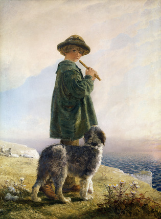 The Piping Shepherd, by Alfred Downing Fripp