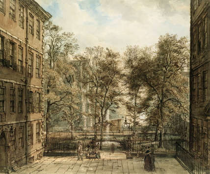 New Court, The Temple, London, by William Henry Hunt