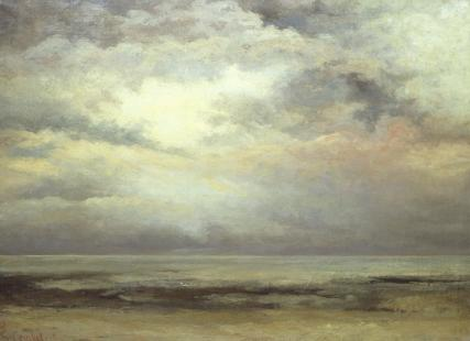 L'Immensite, by Gustave Courbet