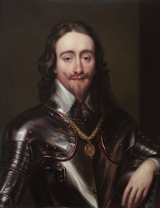 Portrait of King Charles I, by Henry Pierce Bone
