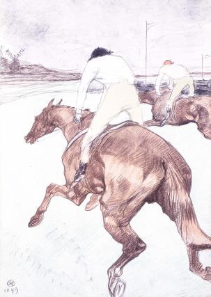 The Jockey, by Henri de Toulouse-Lautrec