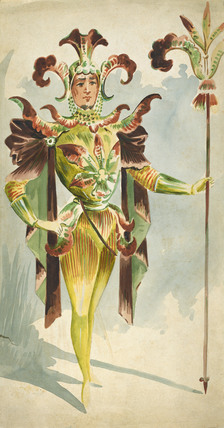 Costume for male orchide