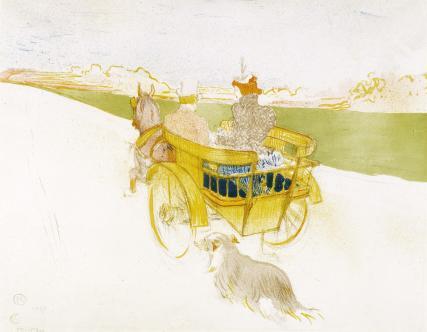 Partie de Campagne, by Henri de Toulouse-Lautrec