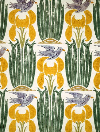 The Xipon Wallpaper, by C.F.A. Voysey