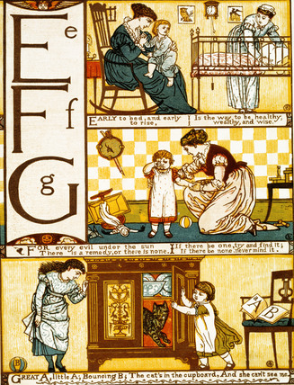 Baby's own ABC, by Walter Crane