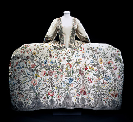 Mantua Dress. England, 18th century