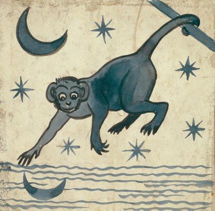 Monkey, by William de Morgan