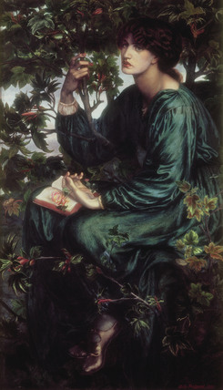 The Day Dream, by Dante Gabriel Rossetti