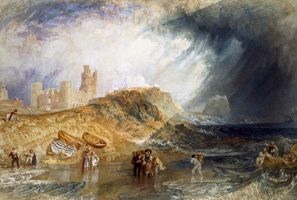 Holy Island, Northumberland, by J.M.W. Turner