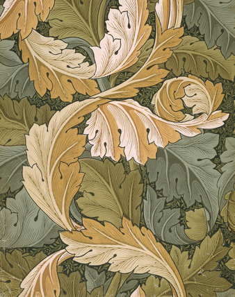 Acanthus Wallpaper, by William Morris