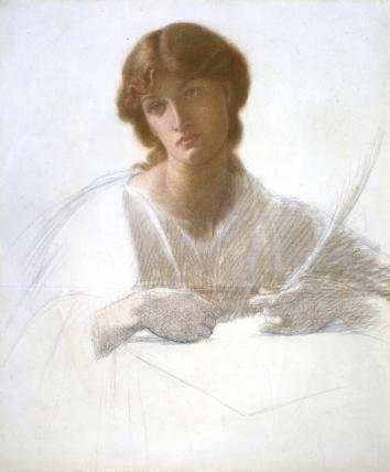 The Blessed Damsel, by Dante Gabriel Rossetti
