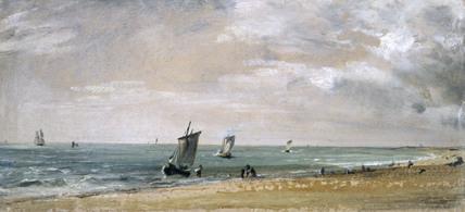 Brighton Beach, by John Constable