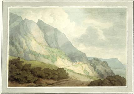 Between Lyme Regis and Chartmouth, by John White Abbott