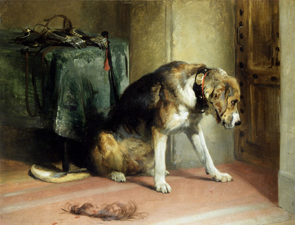 Suspense, by Sir Edwin Landseer