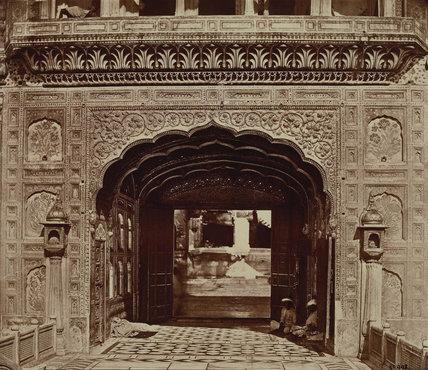 Exterior of temple at Amritsar, India
