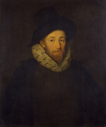 Tudor man with ruff