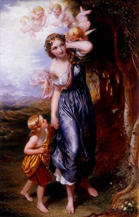 L'Allegro, by Charles West Cope
