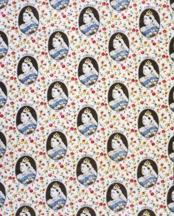 Queen Victoria Jubilee Fabric