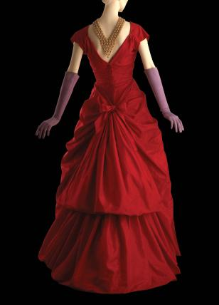 Evening dress, by Balenciaga