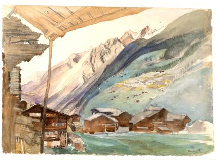 Zermatt, by John Ruskin