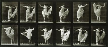 Dancing Girl, photo Eadweard Muybridge