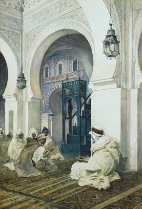 Mosque of Si Bu Madyan, by S. Fabrizi