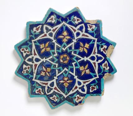 Tile. Iran, 1444