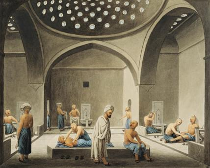 Men Bathing