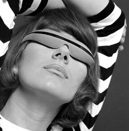 Futuristic sunglasses