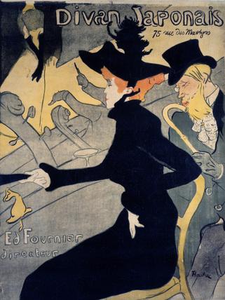 Divan Japonais, by Henri de Toulouse-Lautrec