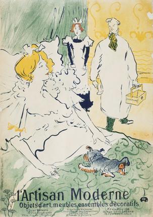 L'Artisan Moderne, by Henri de Toulouse-Lautrec