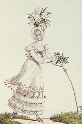 Fashion plate, by E.J.H.Veunet