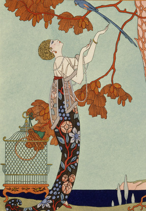 L'Oiseau Volage, by Georges Barbier