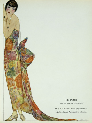 Le Pouf, Robe de Soir, by Paul Poiret