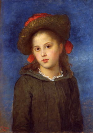 Lallie Lonides, by George Frederick Watts