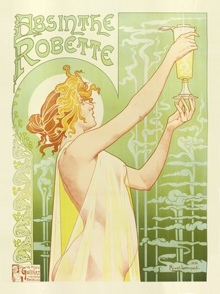 Absinthe Robette, by Privat Livemont