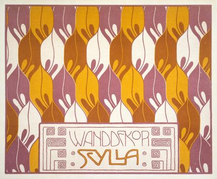 Scylla Design, by Koloman Moser