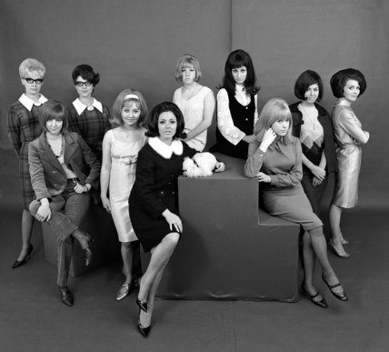 Cilla Black Marianne Faithful And Other 60s Celebrities High Quality Art