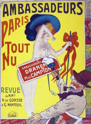 Paris Tout Nu