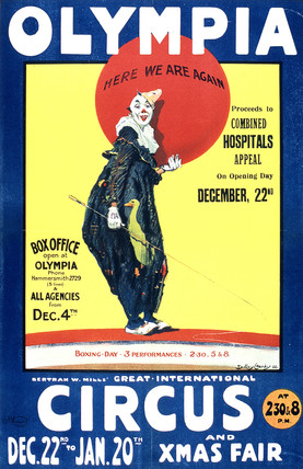 Olympia Circus Poster