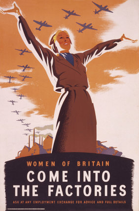 Women of Britain, Come into the factories