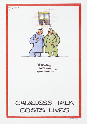 Careless talk costs lives