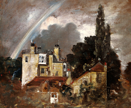 The Grove or Admiral's House, by John Constable