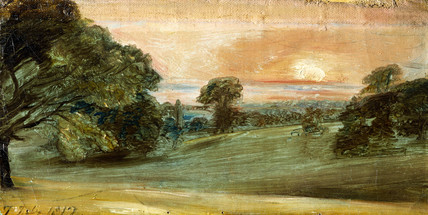 Upland Park Scene, by John Constable