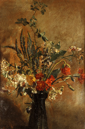 Flower Study by John Constable
