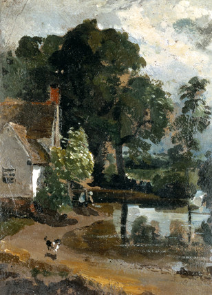 Willy Lot's House Near Flatford Mill, by John Constable